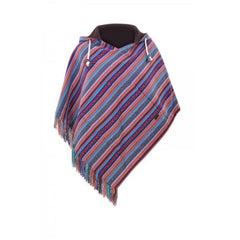 Virblatt Reversible Poncho Relaxed Cotton Wendeponcho Relaxed Baumwolle