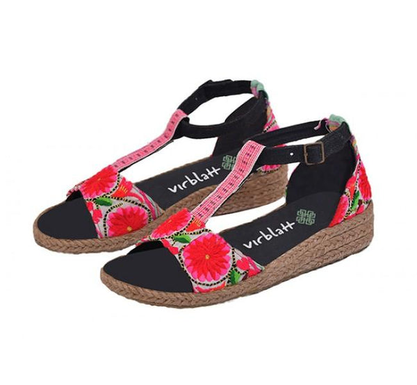 virblatt_hanf_sandalen_sinnlich_pink_hmong_Hemp_clothing_wear_fashion_wedges_comfy_bunt_colorful-hemp-shop