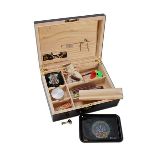 Weedor Stonerbox - Hartholz mit Klavierlack JointBox Stashbox