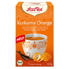 Yogi Tea Kurkuma Orange Tee | Turmeric Orange Tea