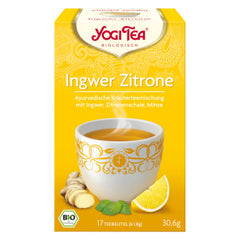 Yogi Tea Ingwer Zitrone Tee | Ginger Lemon Tea