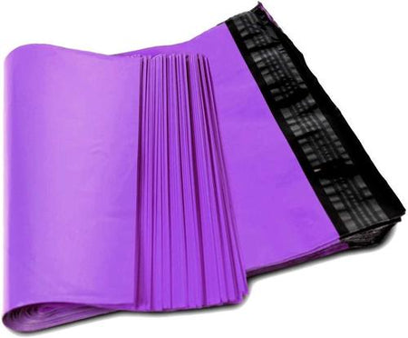 Colored Flat Poly Mailers