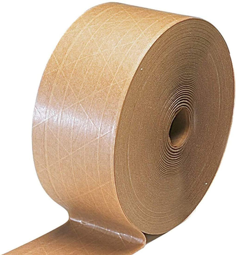 Kraft Paper Reinforced Water-Activated Gummed Tapes