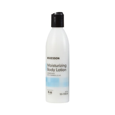 Hand and Body Moisturizer McKesson 8 oz. Bottle Summer Rain Scent Lotion - 48 pack