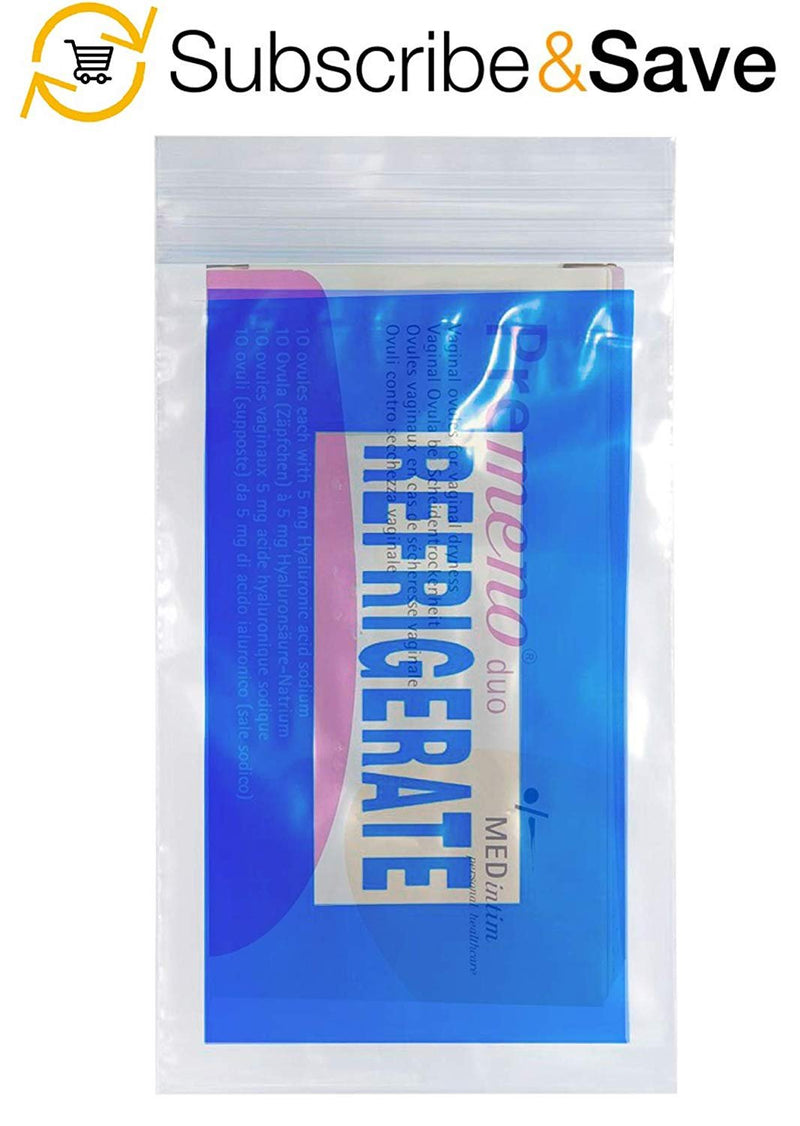 "1000 Pack Clear Blue Poly Refrigerate Bags 9"" x 12"""
