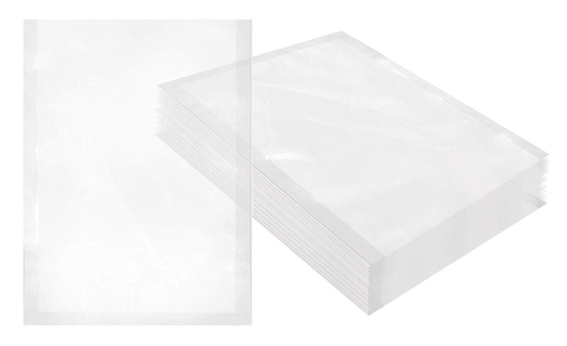 "1000 Pack Clear Poly Co-Extruded Vacuum Pouches 7"" x 9"""