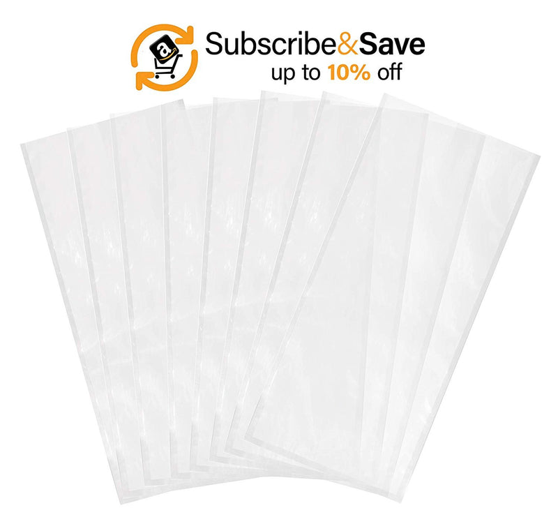 Pack Of 500 Laminated Vacuum Pouches, Clear 14 X 24. Poly-Nylon Vacuum Food Bags 14X24. FDA, USDA Approved, 3 Mil Thick. - AMZ Supply
