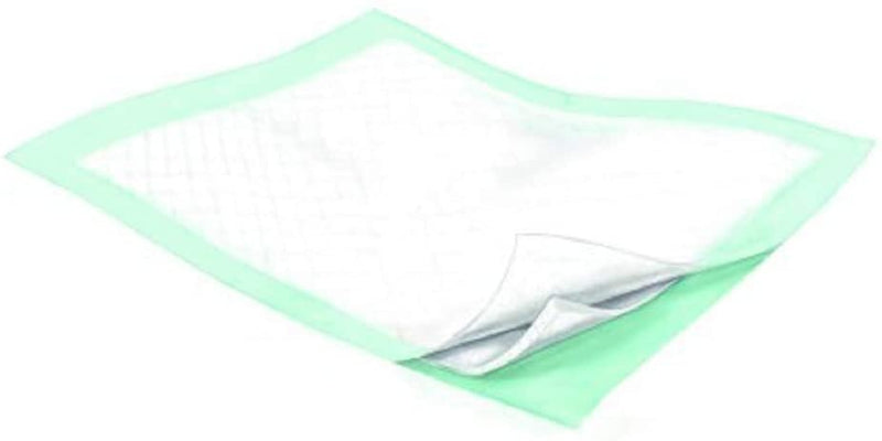 "Disposable Underpads 30"" x 36"". Pack Of 50 Breathable Durable Fluff/Polymer Underpads Heavy Absorbency Beige Polypropylene Backsheet Leak-Resistant - AMZSupply.com"