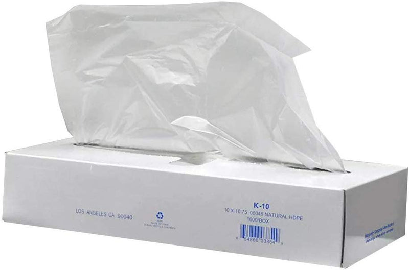 Pack Of 10000 Polyethylene Pop-Up Sheets 8 x 10.75 Plastic Deli And Bakery Wrap FDA, USDA Approved 0.45 Mil. Pop-Up Plastic Food Wraping - AMZSupply.com