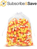 "100 Pack Clear Poly Drawstring Bags 10"" x 12"""