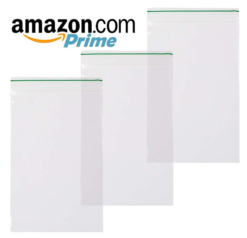 "1000 Pack Greenline Poly Zip Lock Bags 2"" x 3"""