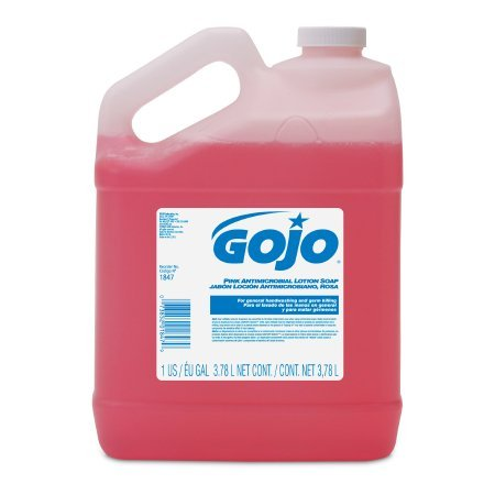 Antimicrobial Soap GOJO® Lotion 1 gal. Jug Floral Balsam Scent - 4 pack