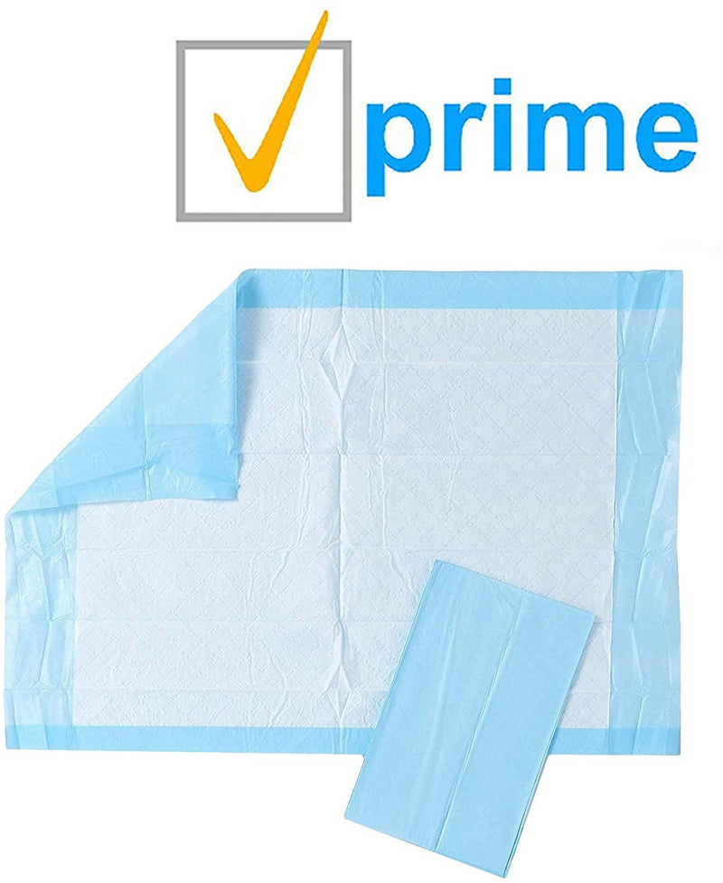 "100 Pack Disposable Underpads 17"" x 24"""