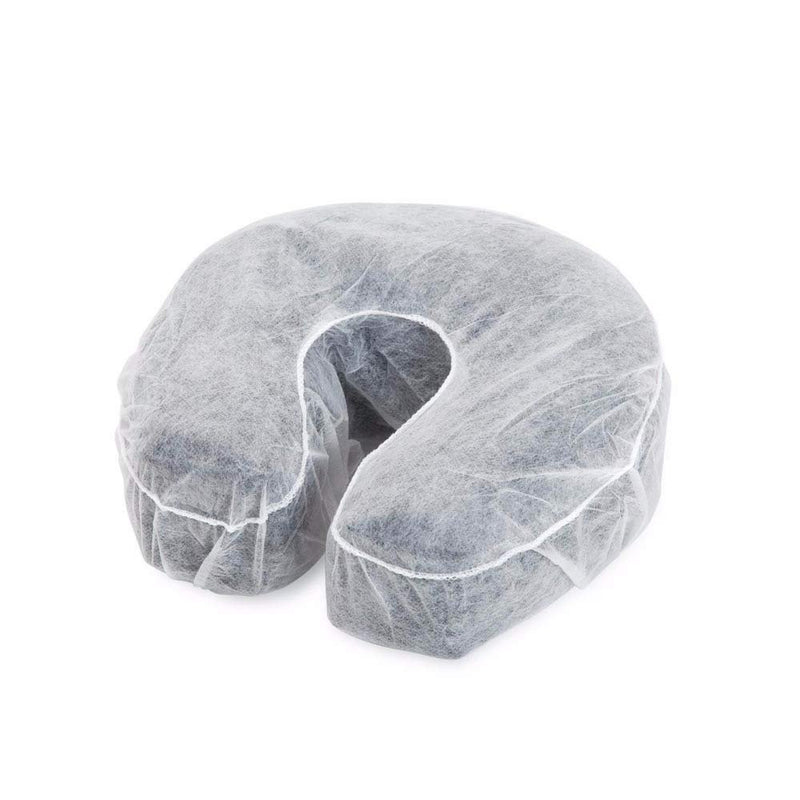 "Massage Table Face Cradle Covers - Headrest & Face Rest Covers 13"" - 100/pk - AMZSupply.com"