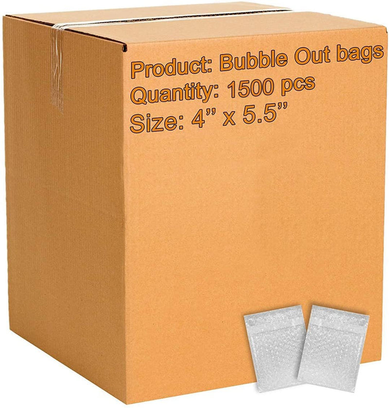 150 Pack Of Bubble Out Bags 15 x 17.5. Self-Sealing Packing Moving Bags Pouches Cushion Lightweight Bags For Mailing And Packaging - AMZSupply.com