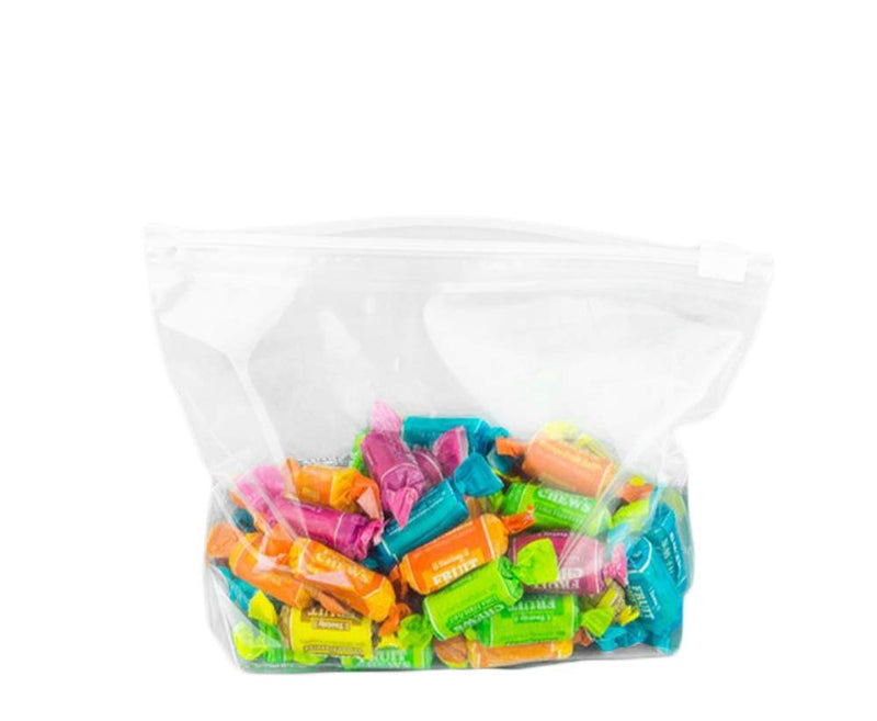 Pack Of 250 Slide Seal Top Bags 12 x 15. Clear Polyethylene Bags FDA Approved, 2.75 Mil. Poly Bags For Packing And Storing - AMZSupply.com