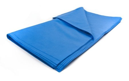 McKesson Argent™ Sterilization Wrap, 600 Grade Dark Blue 36 X 36 Inch Dual Layer SMS Polypropylene - 72 pack