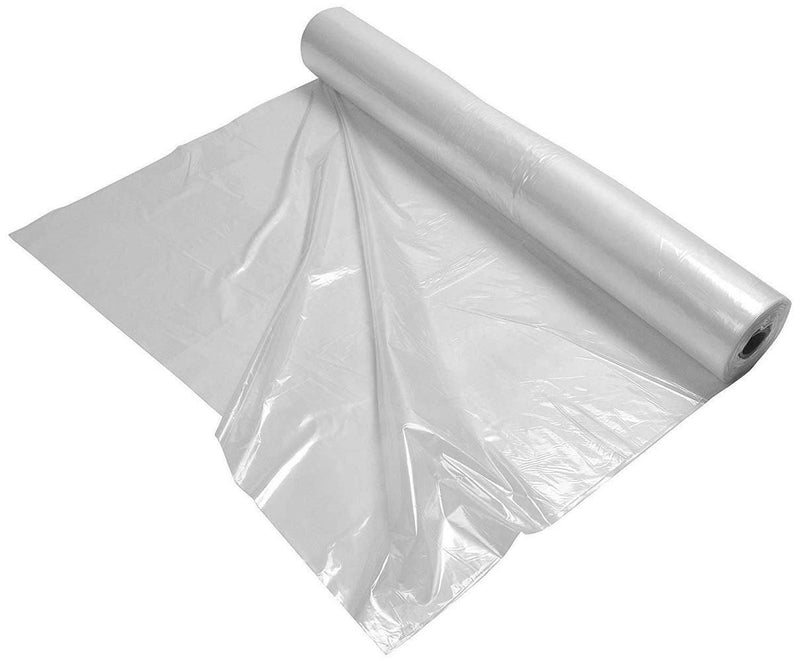 Pack Of 150 General Equipment Covers On Roll, Clear 38 x 26 x 48. Low Density Polyethylene Bags Great For Hospitals And Home Medical - AMZSupply.com