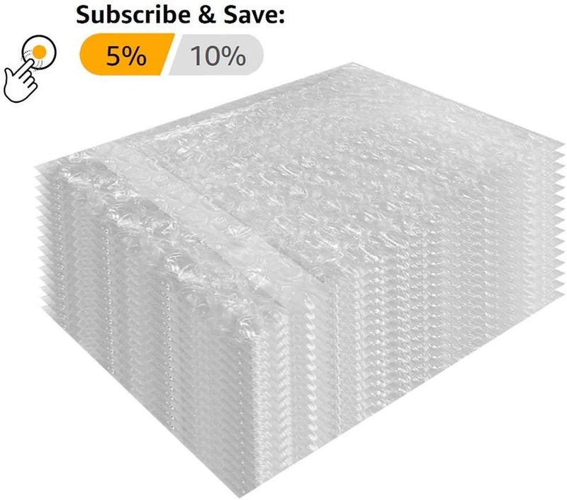650 Pack Of Bubble Out Bags 6 x 8.5. Self-Sealing Packing Moving Bags Pouches Cushion Lightweight Bags For Mailing And Packaging - AMZSupply.com