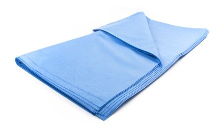 McKesson Argent™ Sterilization Wrap, 400 Grade Medium Blue 45 X 45 Inch Dual Layer SMS Polypropylene - 48 pack