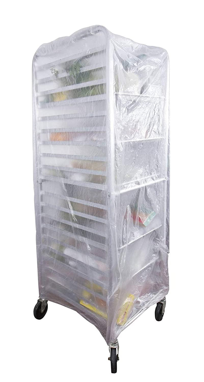 Disposable Low Density Polyethylene Bun Rack Covers on Roll