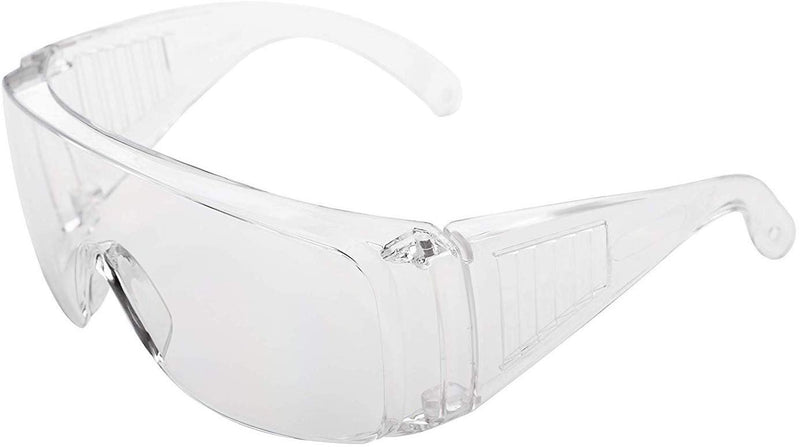 Clear Safety Goggle, Ansi Anti-Scratch Lens. Pack Of 12 Glasses. Safety Eyewear. Clear Anti-Fog Goggles. Protective Safety Spectacles - AMZSupply.com