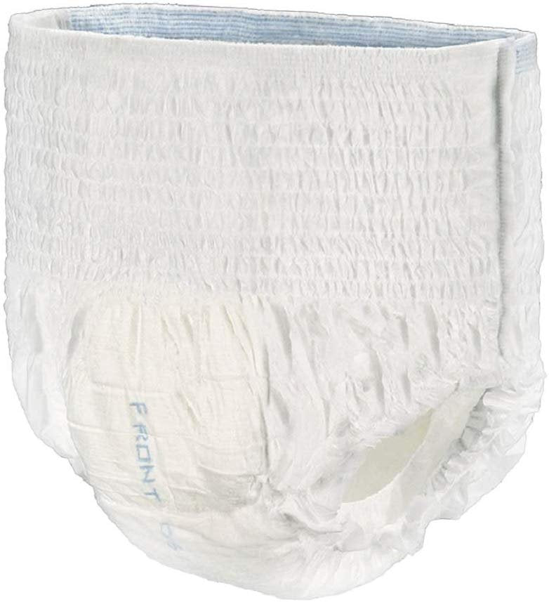 "Pack Of 144 Disposable Absorbent Underwear, Large 44"" x 54"" Incontinence Care. Urine And Fecal Protection. Cloth Like Backing. Absorbent Briefs - AMZSupply.com"