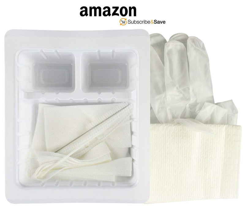 Tracheostomy Care Kit. Sterile Single Use Kit. Compact And Disposable Kit /w All Necessary Items. Individual Needs. Gloves, Trachea Tube Brush - AMZSupply.com