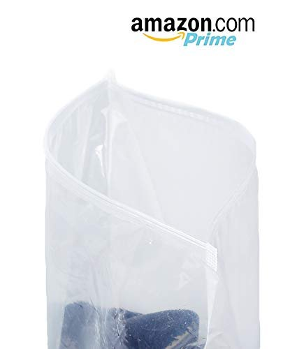 Pack Of 250 Slide Seal Reclosable Bags 8 x 10. Clear Poly BagsPolyethylene Bags For Packing And Storing 2.75 Mil. Plastic Bags For Industrial - AMZSupply.com