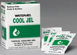 Burn Relief Water Jel® Cool Jel Topical Gel Individual Packet - 600 pack