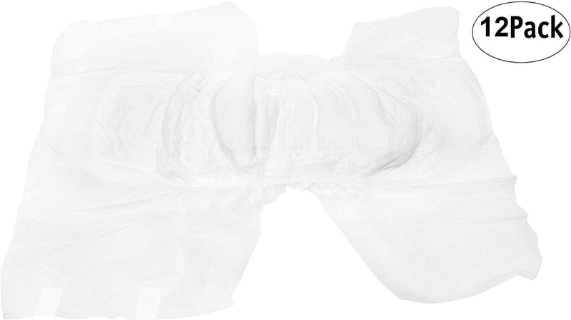 "12 Pack Adult Absorbent Underwear. XXL size 68-80"" - AMZSupply.com"