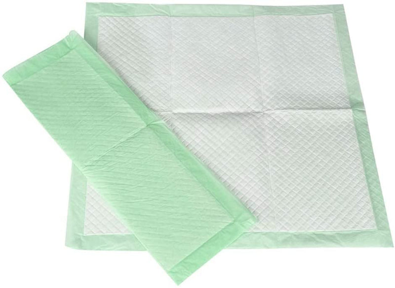 "10 Pack Green Disposable Backsheet Underpads 30"" x 36"""