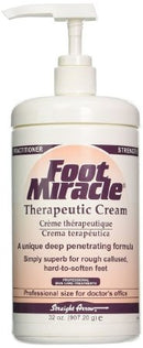 Hand and Body Moisturizer Foot Miracle® 32 oz. Pump Bottle Scented Cream - 6 pack
