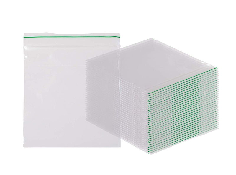 "1000 Pack Greenline Poly Zip Lock Bags 2"" x 2"""