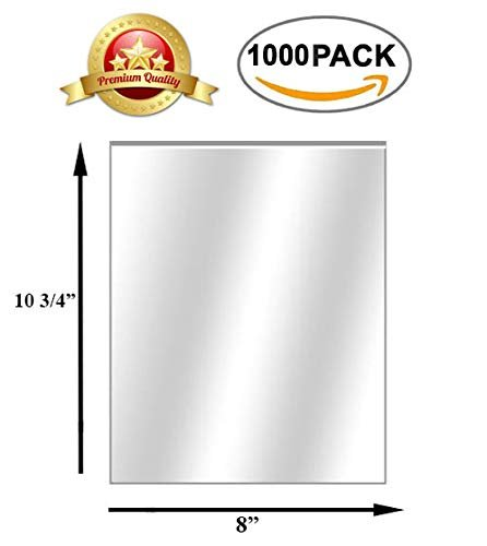 "1000 Pack Pop-Up Poly Sheets 8"" x 10.75"""