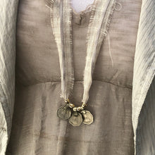 Load image into Gallery viewer, Rupee Necklace - מטפחות - כיסוי ראש - Aviva Lush tichels, head scarves, volumizers