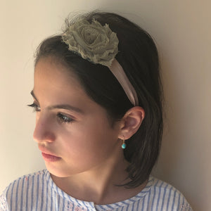 Single Jade Flower - מטפחות - כיסוי ראש - Aviva Lush tichels, head scarves, volumizers