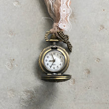Load image into Gallery viewer, Concealed Watch Necklace - מטפחות - כיסוי ראש - Aviva Lush tichels, head scarves, volumizers