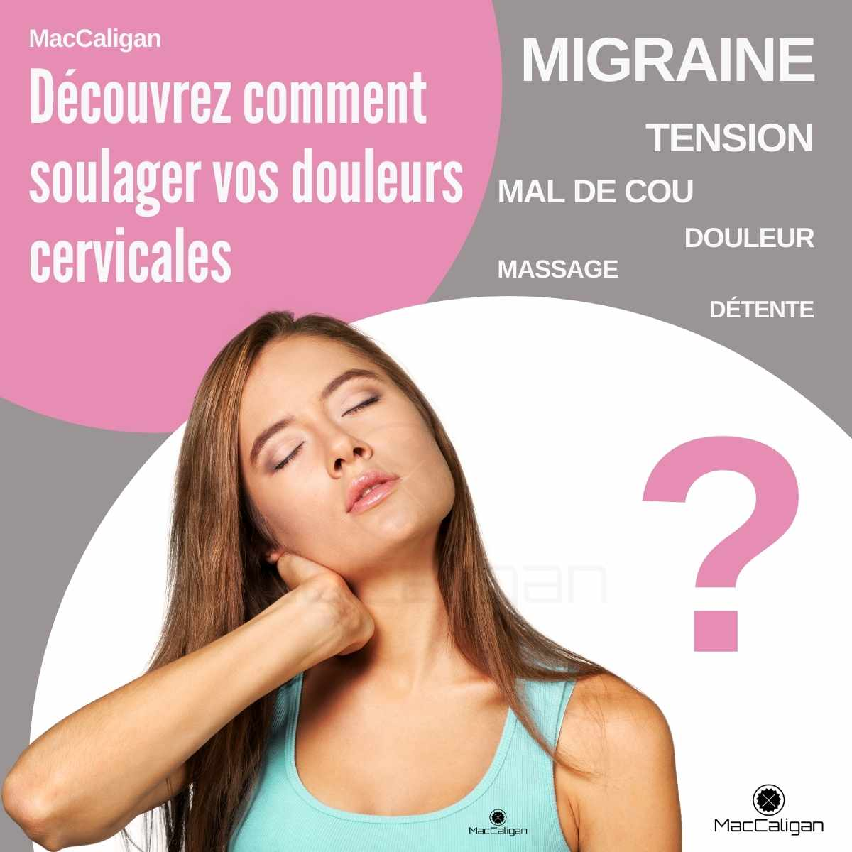 Massage cervicales - tensions cou