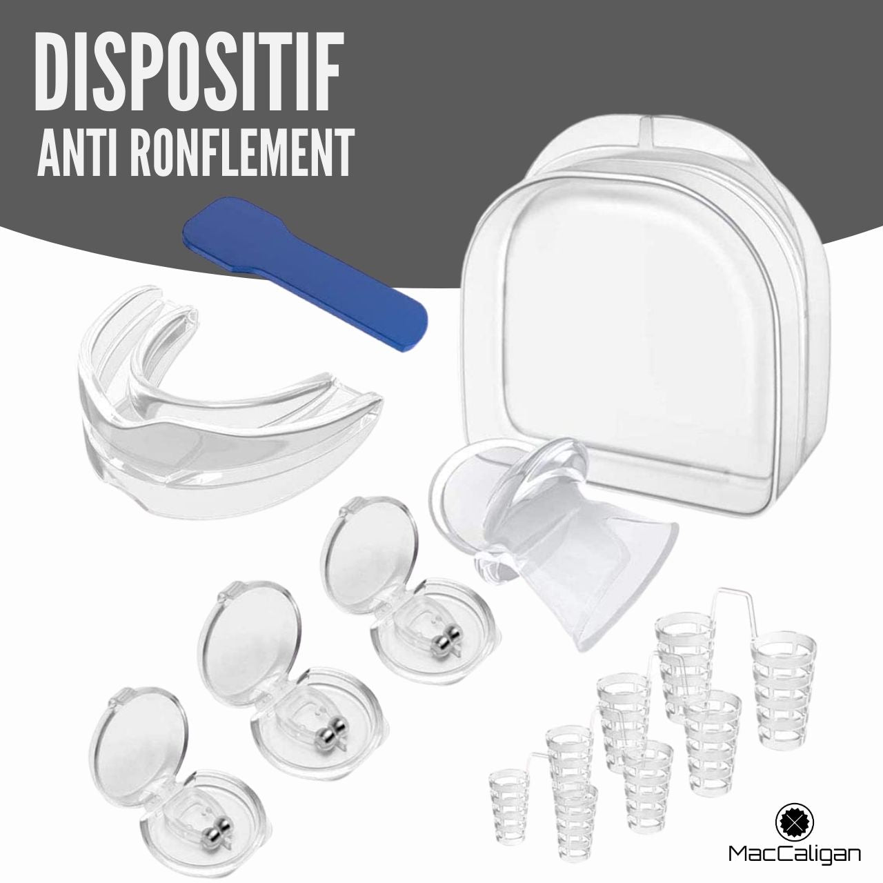 Dispositif Anti Ronflement Snorestop