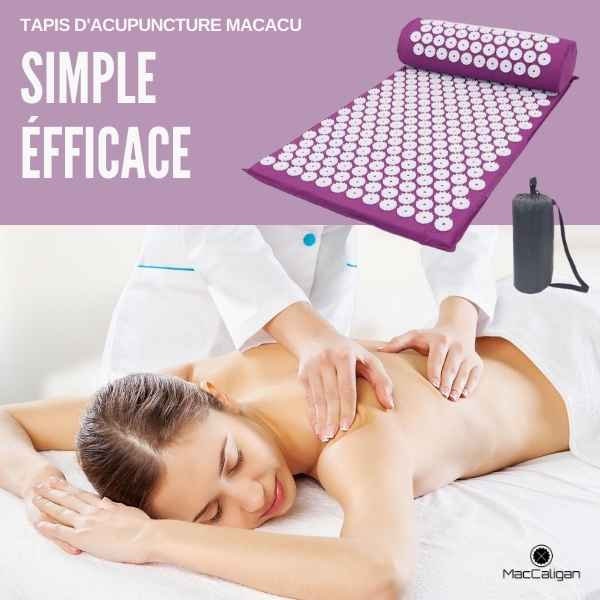 Tapis d'acupuncture