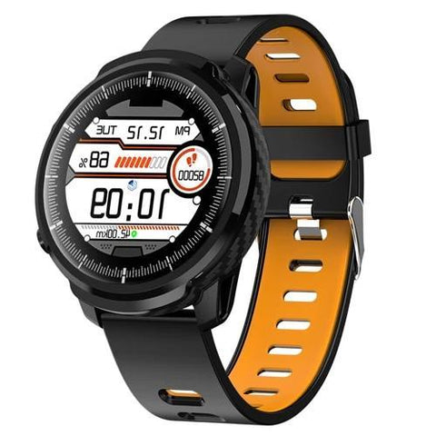 Montre Cardio Smartwatch Mixte4 Bracelet Bigarade | MacCaligan