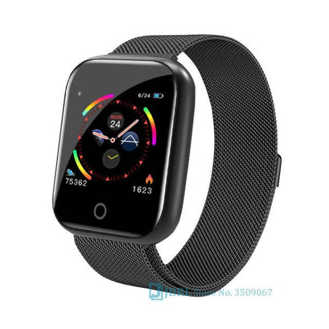 Montre Cardio | Smartwatch MX8 Noire | MacCaligan