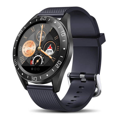 Montre Cardio | Smartwatch MX9 Bleu | MacCaligan