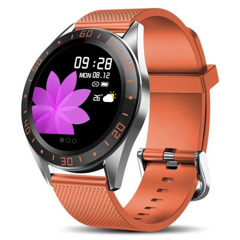 Montre Cardio | Smartwatch MX9 Orange | MacCaligan