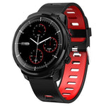 Montre Cardio | Smartwatch Mixte4 Bracelet Rouge | MacCaligan