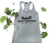 Racerback grey Tank Top