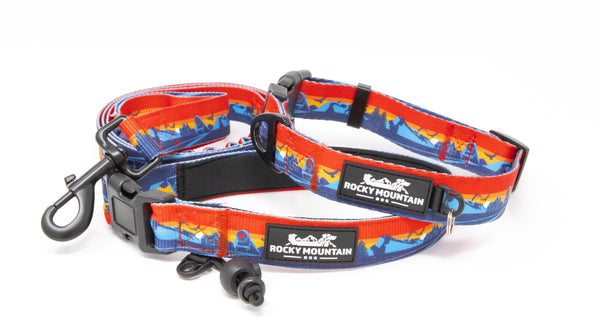 banff dog leash and collar