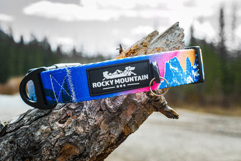 Canmore alpine dog collar by Rocky Mountain dog