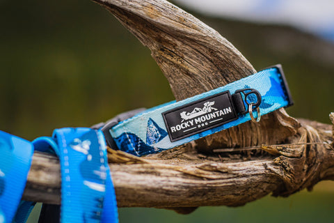 Kootenay Alpine Dog Collar by Rocky Mountain Dog